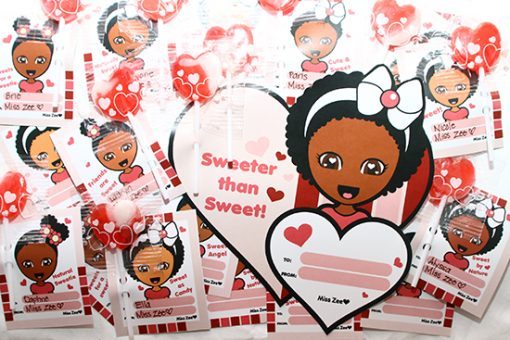 Miss Zee Valentine's Day Printables