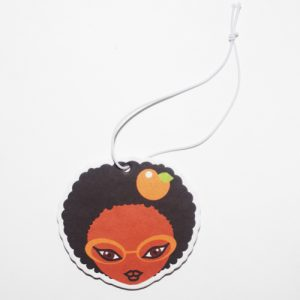 Miss Zee Car Freshener (Peach Scented)