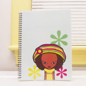 Miss Zee:  Cutie Notebook