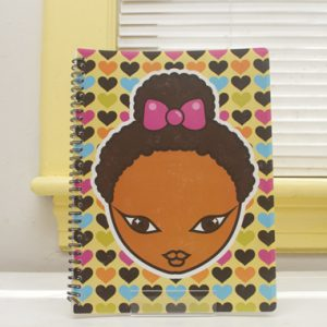 Miss Zee Hearts Notebook