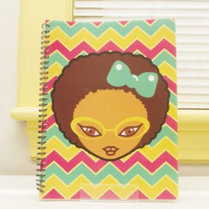 Miss Zee: Zig Zag Notebook