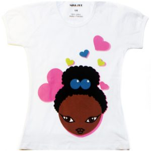 Miss Zee:  Puff Hearts Tee