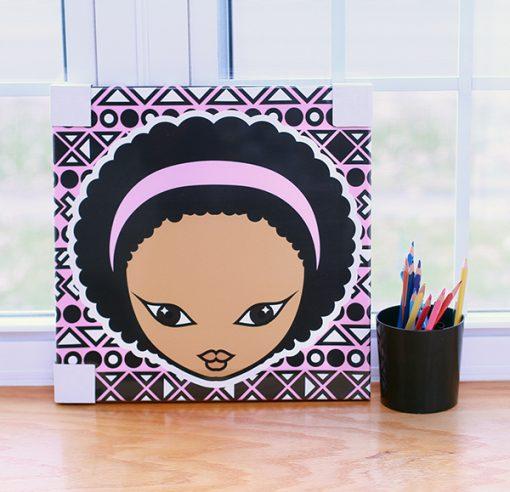 Miss Zee Canvas